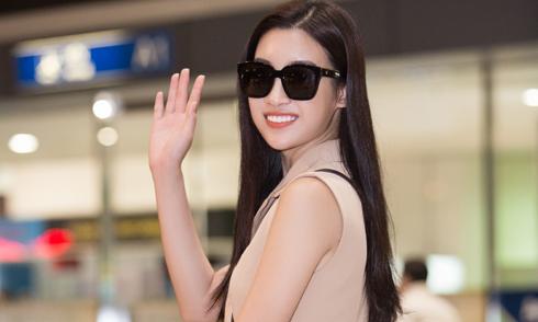Đỗ Mỹ Linh về nước sau khi đoạt giải 'Người đẹp nhân ái' ở Miss World