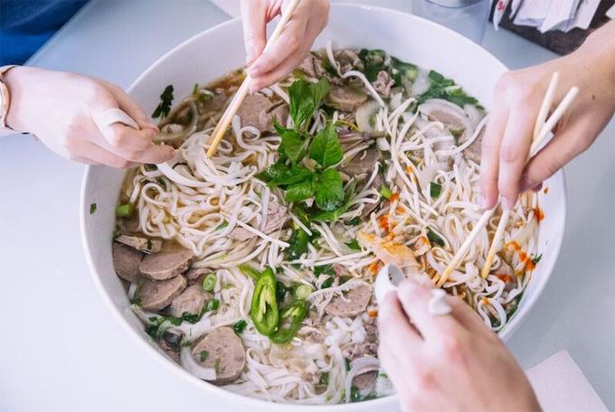 Quán phở mang tênDong Thap Noodles tạiSeattle (Mỹ)