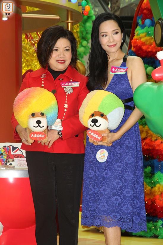 Hoa hậu Hong Kong Quách Thiện Ni tuổi 43 vẫn giữ vóc dáng chuẩn