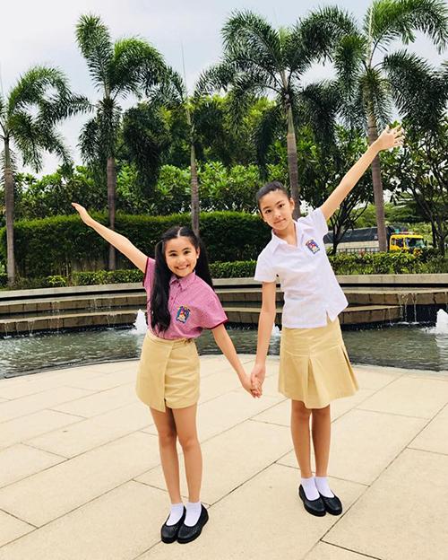 Hai con gái của Quyền Linh