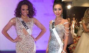 Hoa hậu Hàn Quốc, Pháp chọn thiết kế Việt thi bán kết Miss Universe