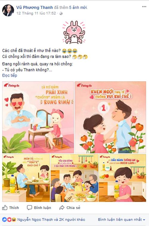 Nhà văn Gào chia sẻ bí quyết làm vợ đảm.