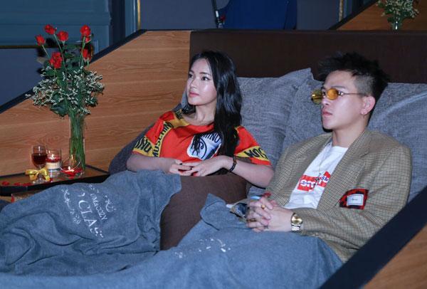 Trong buổi trải nghiệm ngày 23/11, hot girl Châu Bùi và Cao Minh Thắng là hai khách mời.