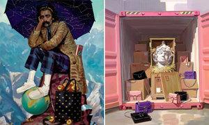 Gucci tái hiện thần thoại Hy Lạp qua sách ảnh thời trang
