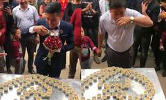 Nhà gái 'thách' nhà trai uống 100 ly rượu trong ngày đón dâu ở Lạng Sơn