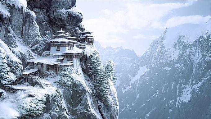 Bhutan đẹp như tiên cảnh vào mùa đông