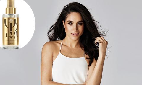 Meghan Markle tiết lộ 3 sản phẩm 'ruột' giúp mái tóc luôn óng ả