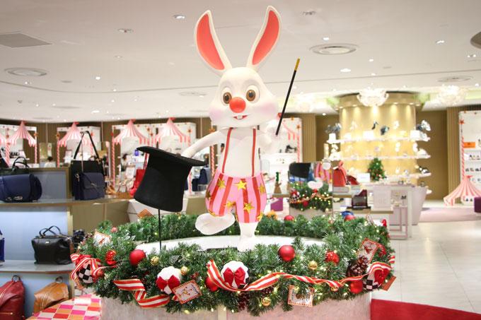 Trung tâm thương mại Takashimaya được trang hoàng lộng lẫy để chào đón Noel.