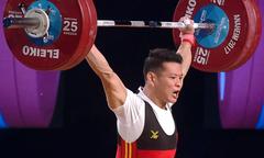Phần thi giúp Thạch Kim Tuấn giành ba HC vàng cử tạ thế giới