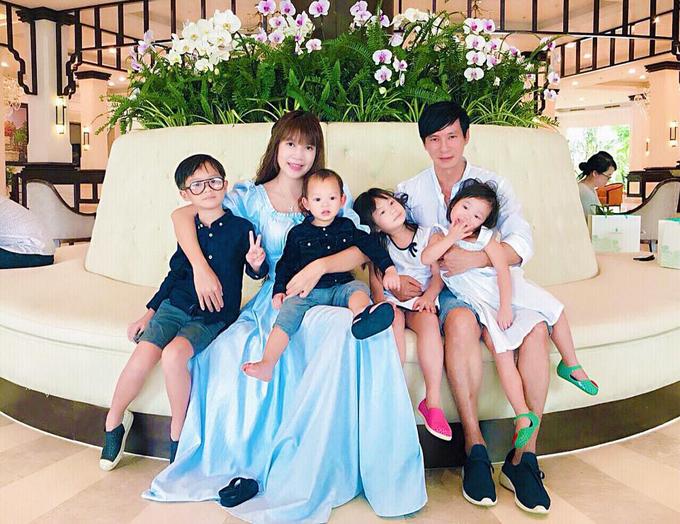 Gia đình Lý Hải Minh Hà