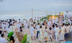 Tiệc cưới bãi biển mang phong cách rustic tại Cocobeach