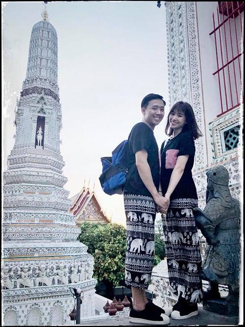 Hari và Trấn Thành tay trong tay khám phá đất nước Thái Lan.