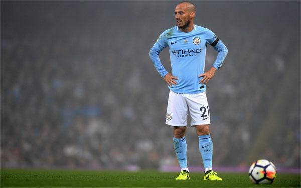David Silva sẽ thi đấu cho Man City tới hè 2020 khi anh 34 tuổi.
