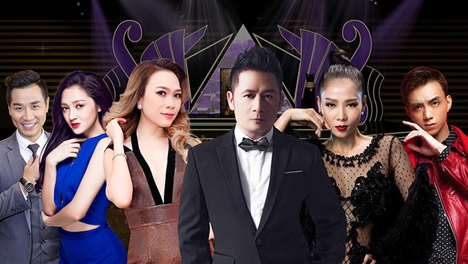 Các ca sĩ nổi tiếng như Bằng Kiều, Thu Minh, Mỹ Tâm, Soobin Hoàng Sơn, Bảo Anh... sẽ mang tới liveshow âm nhạc hoành tráng với loạt hit làm nên tên tuổi của họ trong làng nhạc Việt. Đăng ký nhận vé mời tại đây.