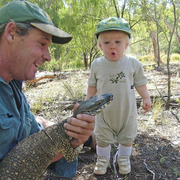Khi còn là một cậu nhóc 3 tuổi, Robert đi theo cha mẹ tới sở thú mỗi ngày.