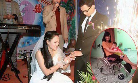'Thầy giáo làng' tật nguyền quyết cưới cô gái bại liệt
