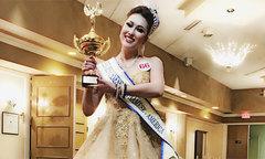 Nhờ 'dao kéo', Phi Thanh Vân đăng quang hoa hậu ở Mỹ