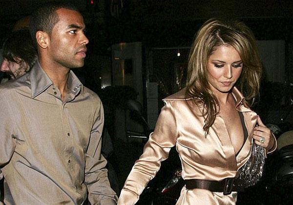 A. Cole và vợ cũ Cheryl. Ảnh: NS.