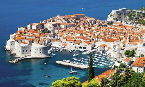 Dubrovnik - đô thị cổ được bảo tồn nguyên vẹn ở Croatia