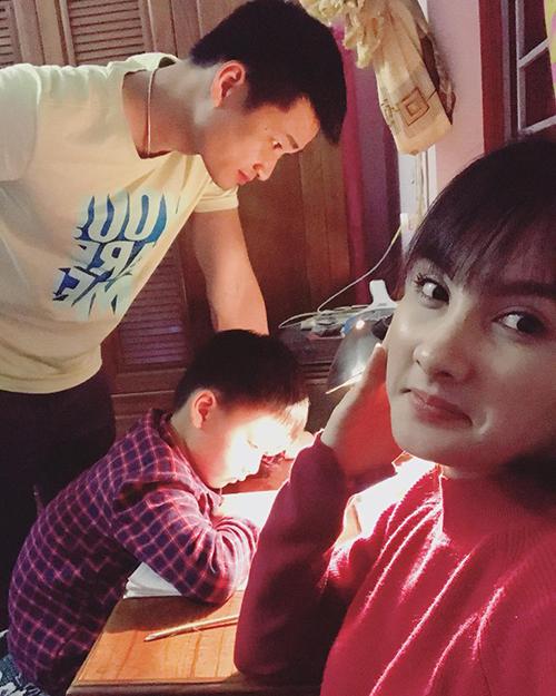 Hai vợ chồng Bảo Thanh