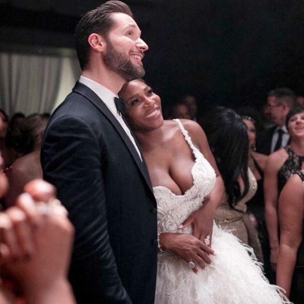 Serena và chồng trong hôn lễ cổ tích giữa tháng 11.