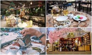4 quán trà chiều sang chảnh dành cho các 'tiểu thư Sài Gòn'
