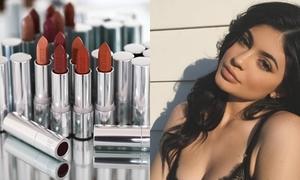 Kylie Jenner nối bước chị gái Kim tung ra bộ sưu tập 20 màu son