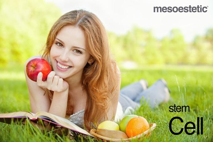 Chiết xuất từ táo quý hiếm Thụy Sĩ có tác dụng làm đẹp da.