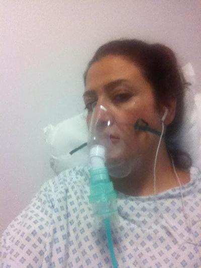 Maryam Yazdany sau khi phẫu thuật năm 2015. Ảnh: The Sun