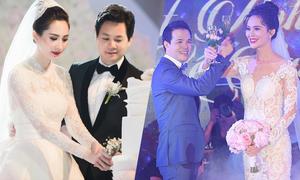 Những đám cưới hoành tráng của sao Việt trong năm 2017