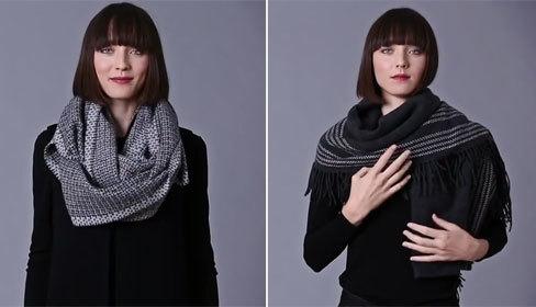 7 cách quàng khăn cho quý cô sành điệu