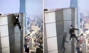 Chàng trai mạo hiểm nhất Trung Quốc tử vong khi leo nóc tòa nhà 62 tầng