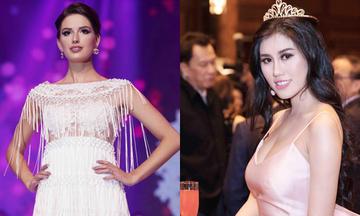Emily Hồng Nhung giới thiệu sưu tập mới tại Hoa hậu Du lịch Quốc tế