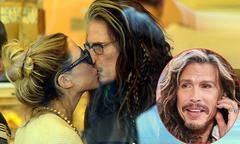 69 tuổi, thủ lĩnh Aerosmith vẫn rất lãng mạn với bạn gái kém 40 tuổi