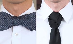 9 cách thắt nơ, cà vạt cho chàng tự tin dự tiệc cuối năm