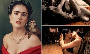 Salma Hayek kể về nỗi đau bị ép khỏa thân đóng cảnh sex đồng giới