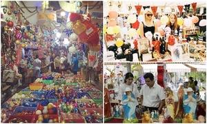 Tha hồ mua sắm ở ba khu chợ Giáng sinh Sài Gòn