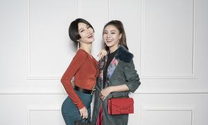 Diễm My 9x, Lan Ngọc khoe dáng cùng trang phục giáng sinh