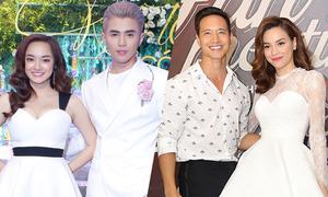Hai câu chuyện 'phim giả tình thật' trong showbiz Việt 2017