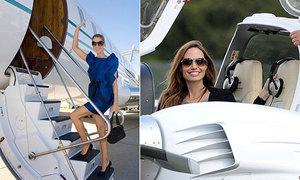 10 sao Hollywood sở hữu máy bay riêng đắt đỏ nhất