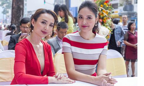 Ngọc Diễm, Hương Giang đọ nhan sắc tuổi 30 trong sự kiện