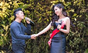 Lương Bằng Quang nắm tay, song ca cùng Á hậu Khánh Phương