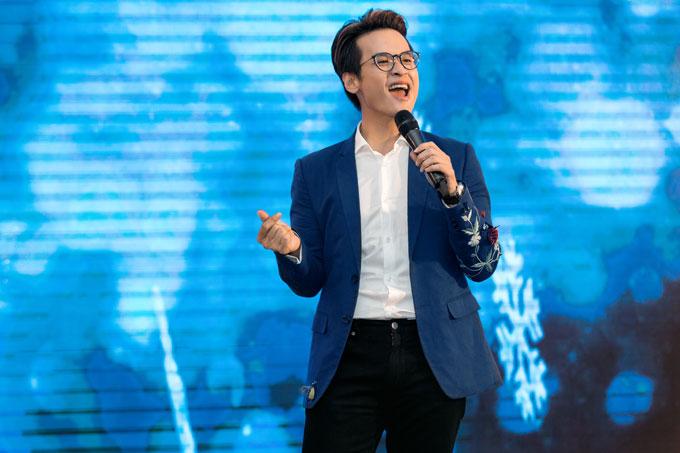 Hà Anh Tuấn sẽ tham gia đêm nhạc Dove City of Lights cùng nhiều nghệ sĩ khác tại Hà Nội vào tối 24/12.