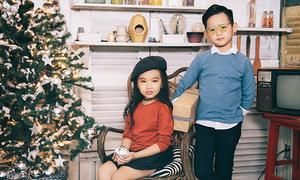 Trang phục hợp mốt cho bé trong tiết trời Sài Gòn se lạnh