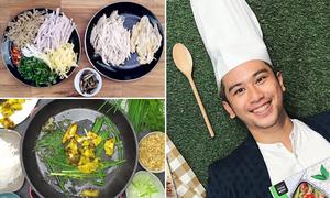 Chàng trai trổ tài nấu 3 món ăn 'cộp mác' mùa đông Hà Nội