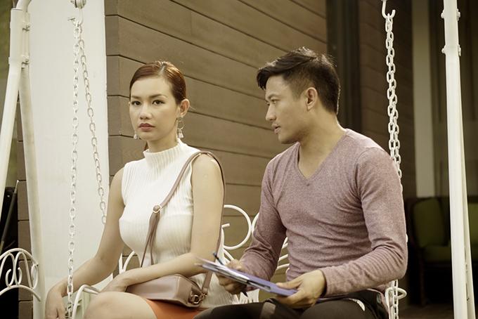 Quỳnh Chi và Quý Bình.