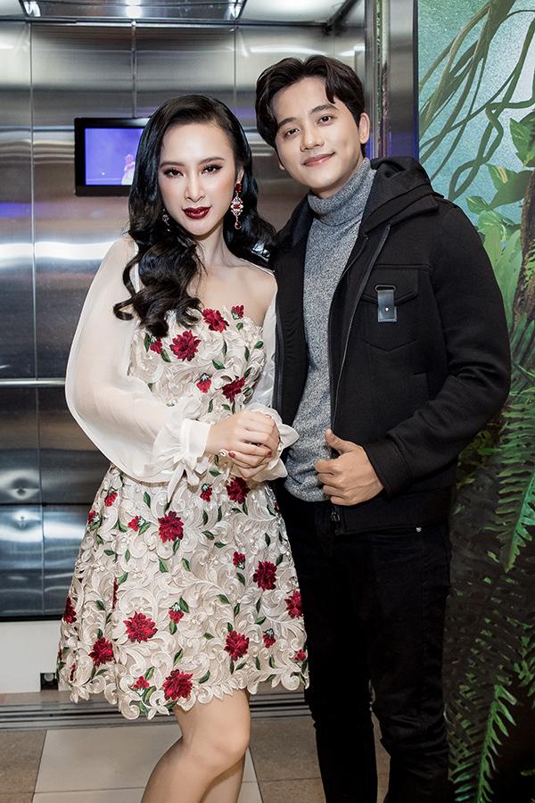 Angela Phương Trinh khoe sắc bên Mai Tài Phến trong sự kiện