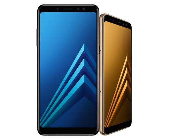 Galaxy A8 và A8+ có thiết kế tương đồng.Ảnh: TT.