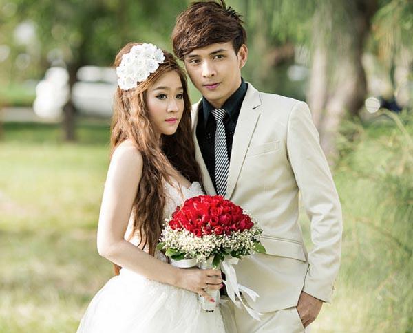 Ảnh cưới của Ivy và Hồ Quang Hiếu.