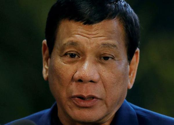 Tổng thống PhilippinesRodrigo Duterte. Ảnh: Reuters